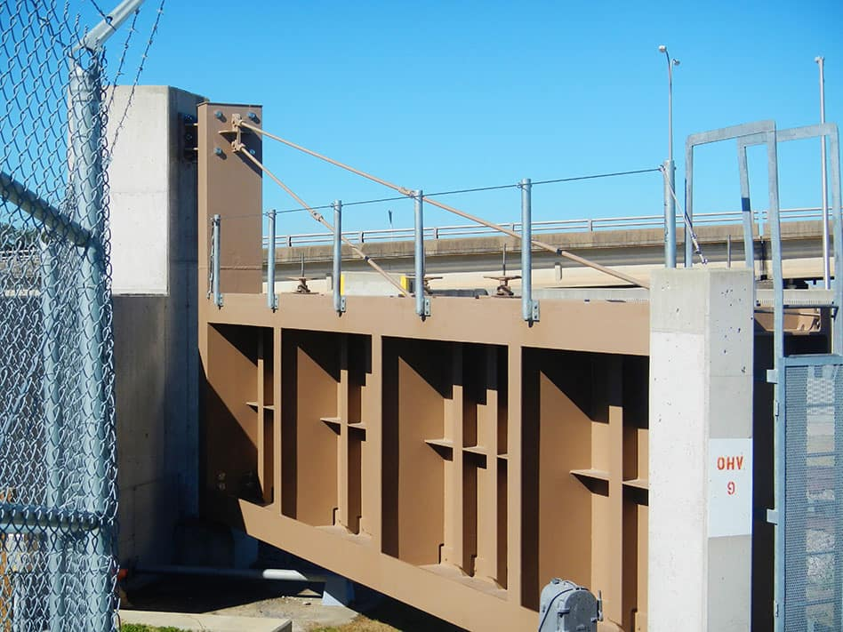 USACE Settlement Remediation-Seabrook Gate Fall Protection